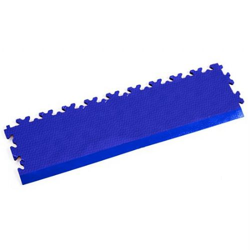 Blue Snakeskin - Interlocking Tile Edging